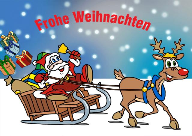 Weihnachtsgrüße und Shop Info